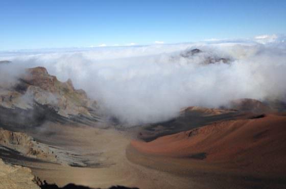 Haleakala National Park and Rainbows, Maui