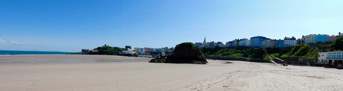 Beautiful Tenby-Get refreshed at Caffi Pura