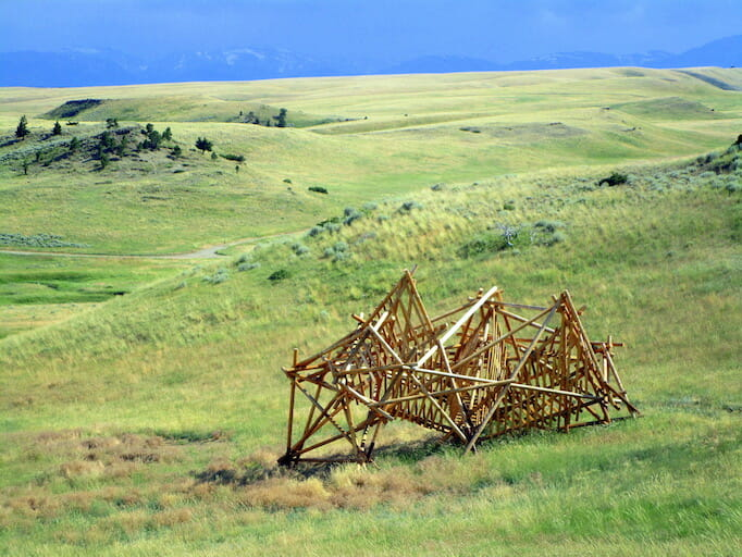 Pioneer at Tippet Rise Art Center