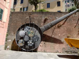 Camogli Frying Pan for May's festival