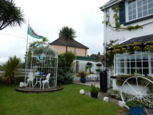Maggie's front garden