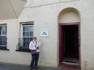 """A """"Red Lodge"""" in Tenby, Wales"""