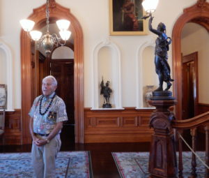 Docent Willie Moore