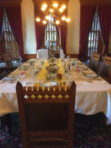 Elaborate table settings