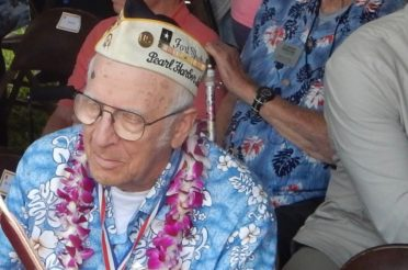 World War II Veterans at Pearl Harbor, 75th Anniversary