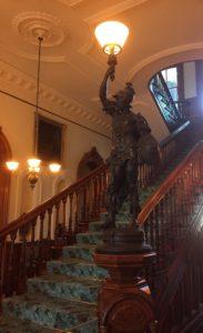 Foyer Statue Lamp