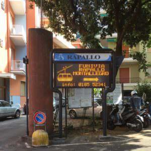 Funivia entrance, Rapallo