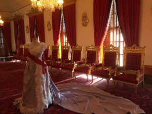 Gown & original visitor chairs