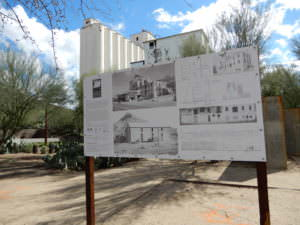Hayden flour mill signs, Tempe, Arizona
