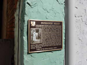 Husband's Alley, Jerome