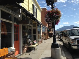 Main Street, Broadway, Red Lodge, Montana