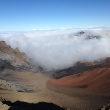 Haleakala National Park and Rainbows, Maui