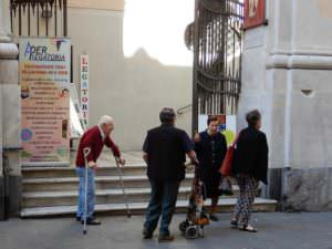 Genoa people visiting