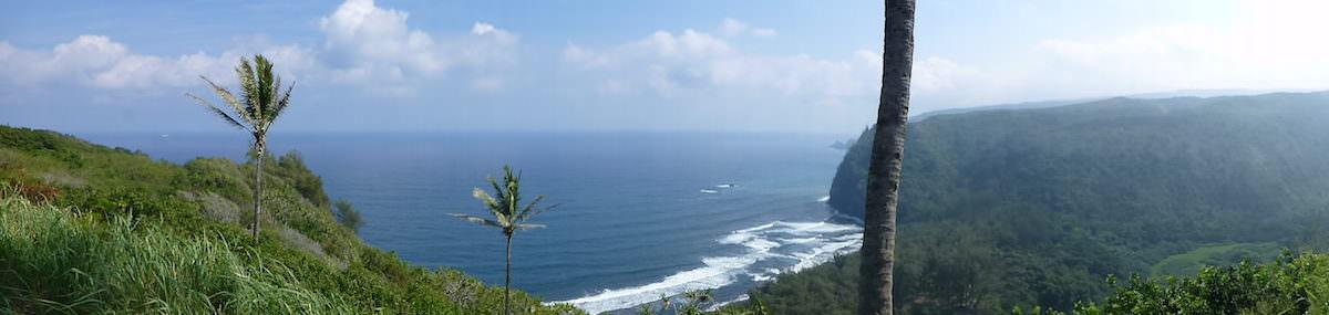 The Big Island, Hawaii Pololu Lookout