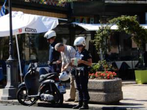 Really busted, cops in action, Rapallo, Italy