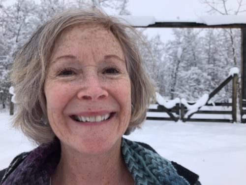 RoseMary Griffith, Montana winter