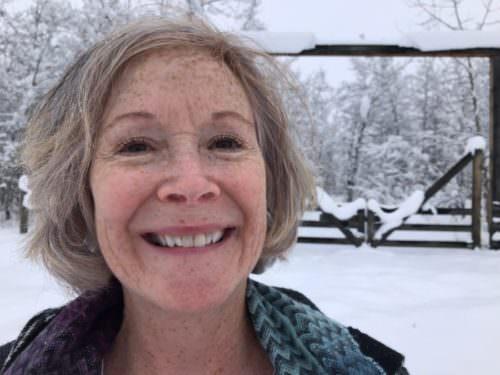RoseMary Griffith, Montana winter