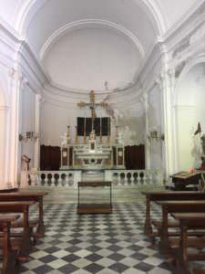 San Giorgio Church interior, Portofino