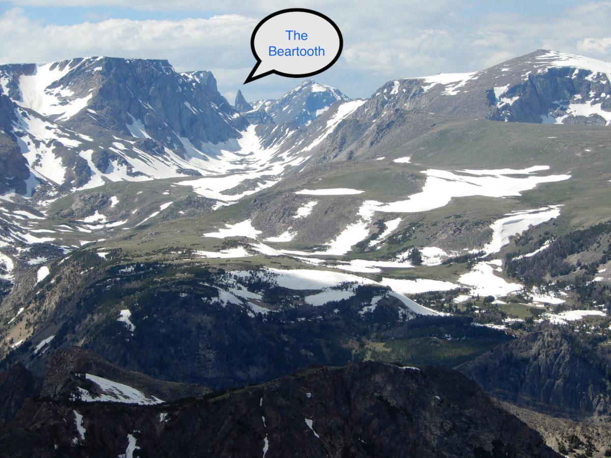 The Beartooth Peak
