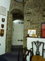 Door to being in turret, in the Wall