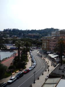 Where they park in Rapallo, Italy