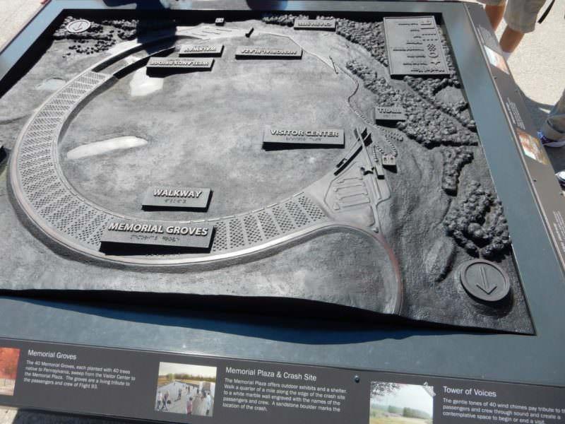 Memorial of Flight 93 Fifteen Years After 9/11