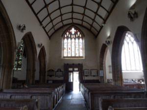 St Mary's facing rear