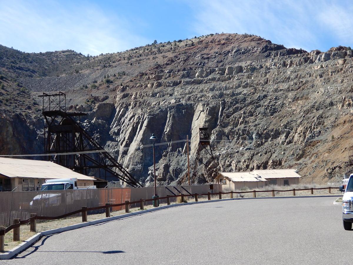 Former mining operations, Jerome, Arizona