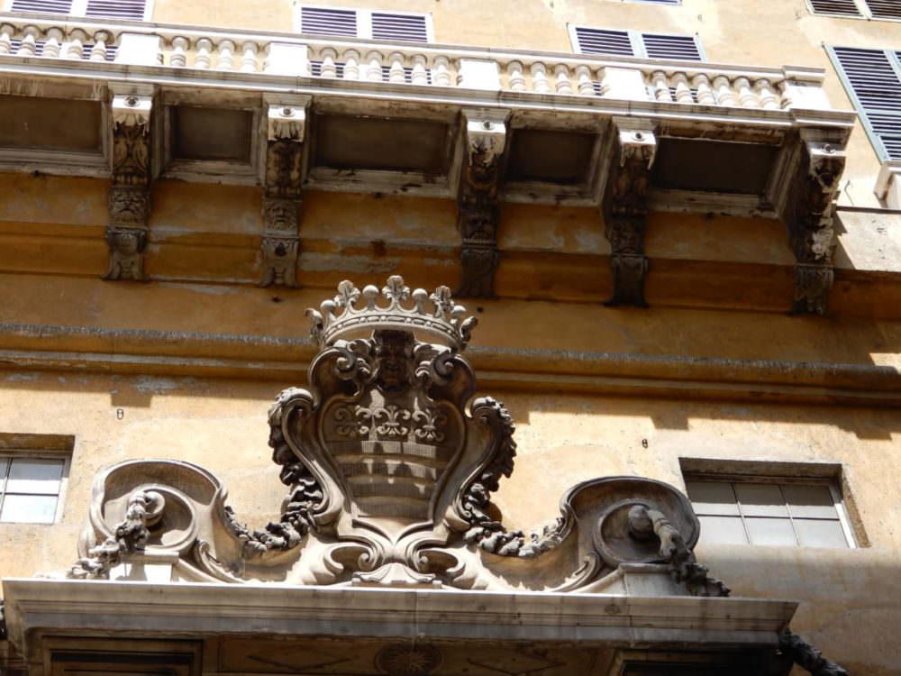 Genoa coat of arms, Liguria, Italy