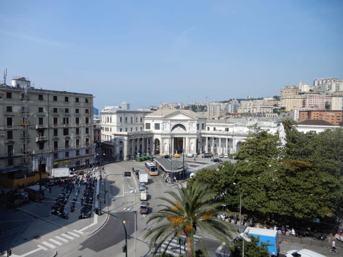 Genoa's Piazza Principe Railway