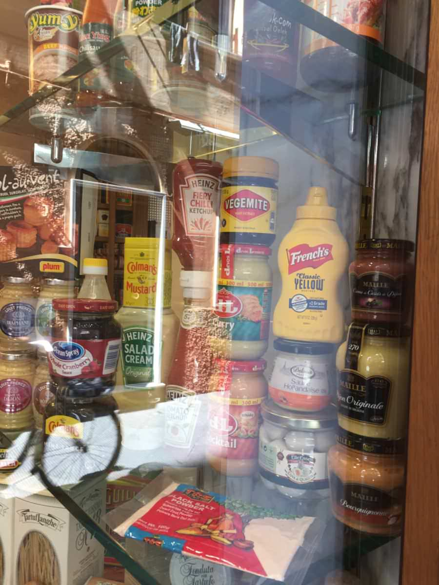 Heinz products in Italy