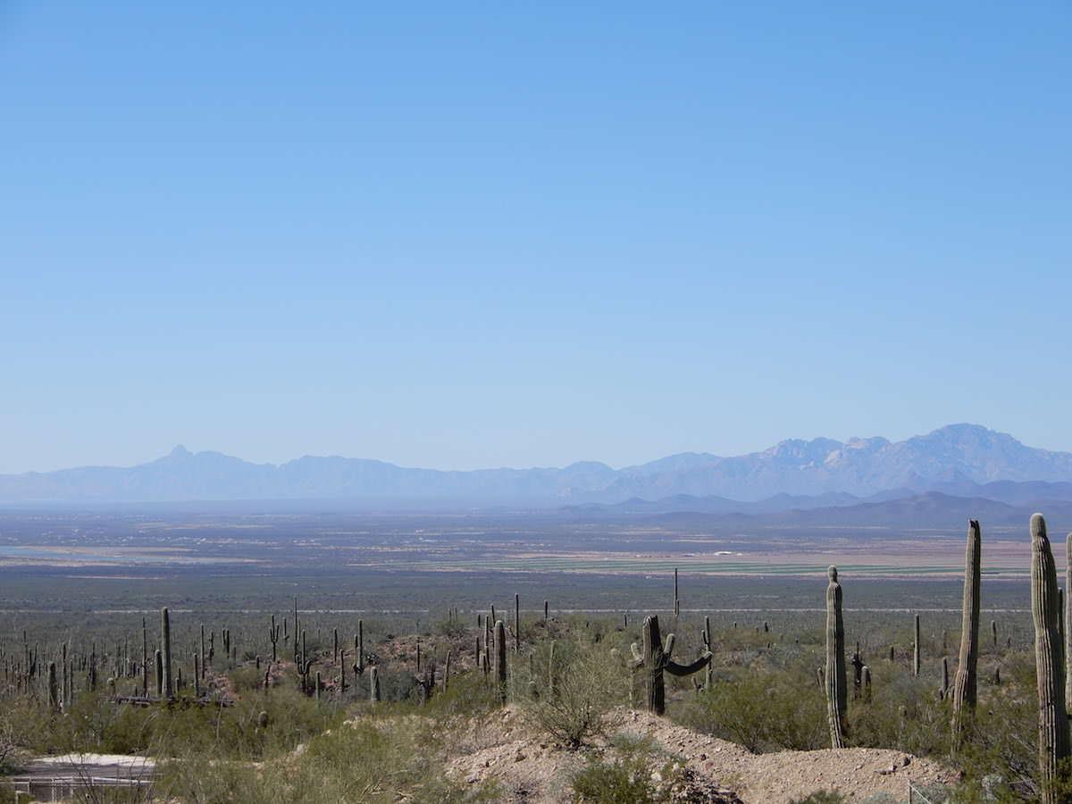 Layered Desert View, Arizona