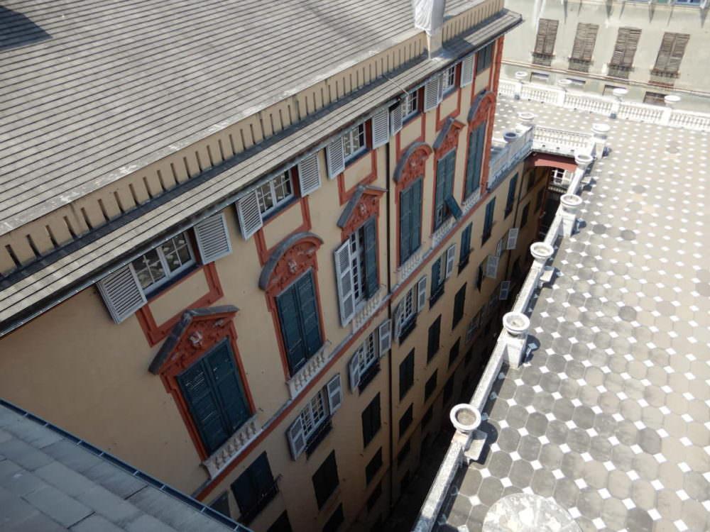 Palazzo Rosso terrace, Genoa, Italy