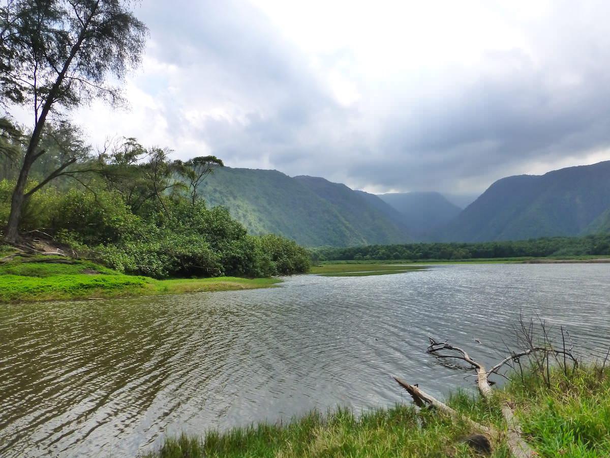 Pololu trail inlet, Hawaii