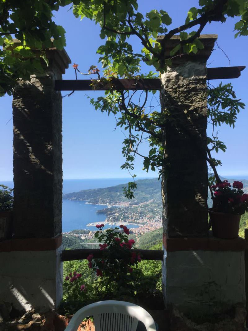 View from Il Pellegrino, Rapallo