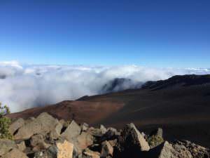 Vista on the Summit on Haleakala