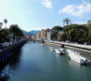 Water taxis, Rapallo canal